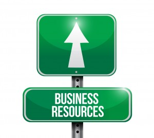 business resources road sign illustrations
