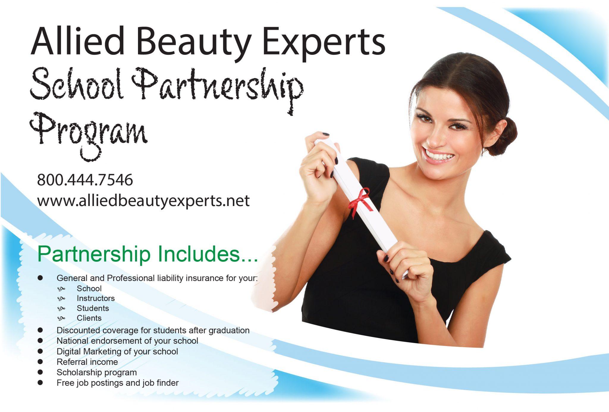 Allied Beauty Experts School Partnership Program image