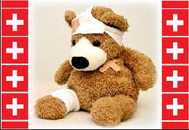 Workmans Comp Teddy Bear