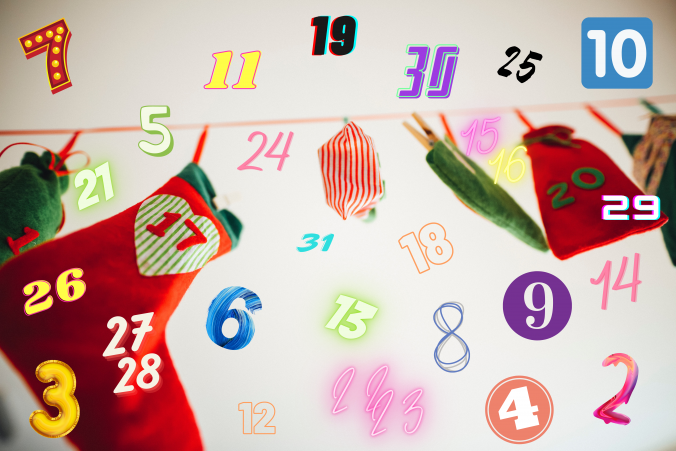 Advent calendars can be traced back to 1851, where religious families would put a chalk line on the door frame starting around December 1 until Christmas eve. They then evolved into newspaper pages with Christmas scenes and little candies taped to them for the days until Christmas.